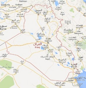 خارطة العراق 1