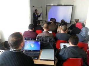 ورشة التدريب في تونس