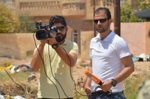 سيف طلال ومصوره حسن العنبكي