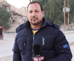 مراسل يهدد بالقتل بالعراق