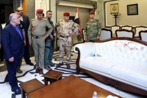 ريس الوزراء العراقي يتفقد القنفه